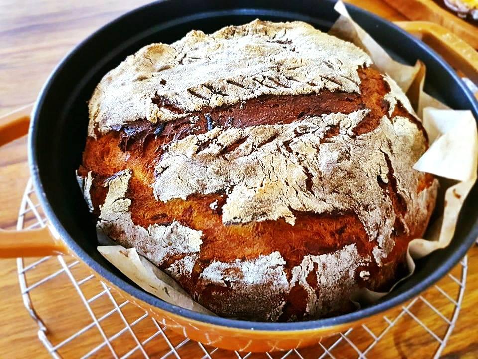 מתכון ללחם מיסו אפוי בקדירה