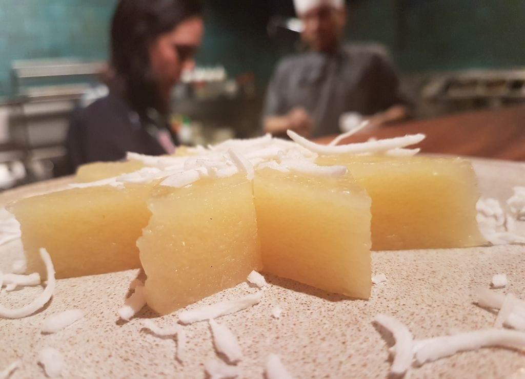 עוגת בננה טפיוקה בית תאילנדי