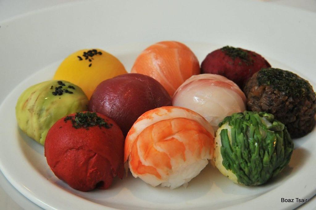 ארוחת הנאמי שף בועז צאירי