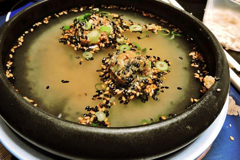 מרק מכדורי מיסו