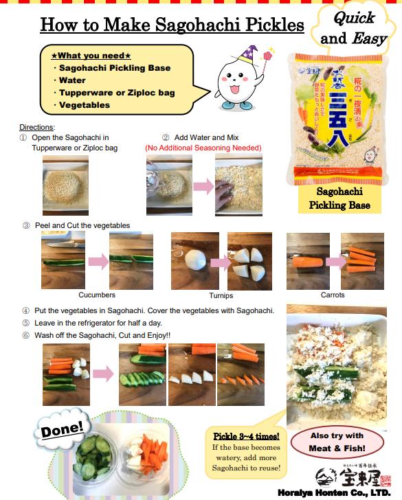איך להכין חמוצים יפנים בסגנו שגוהצי How to Make Sagohachi Pickles