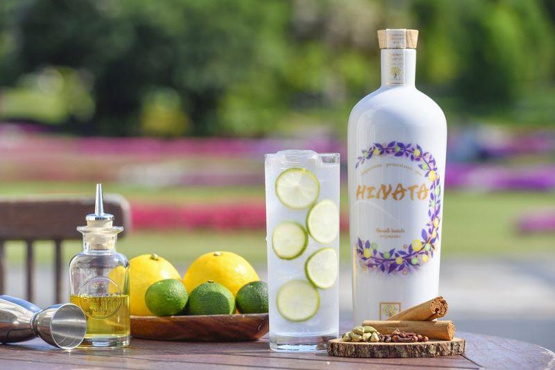 Hinata gin and tonic