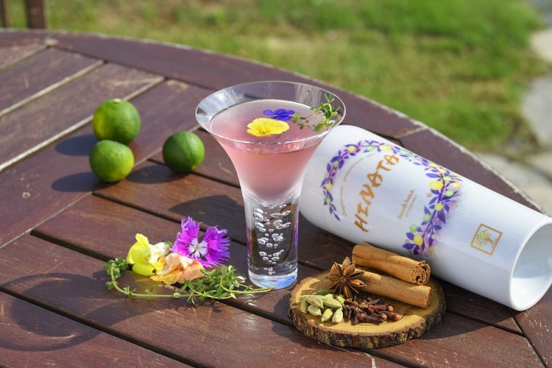 Hinata gin cocktail
